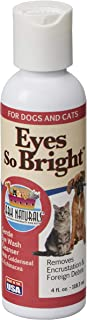 product image for Ark Naturals Eyes So Bright, Gentle Eye Wash for Dogs and Cats, Naturally Removes Dirt and Debris, 4oz Bottle
