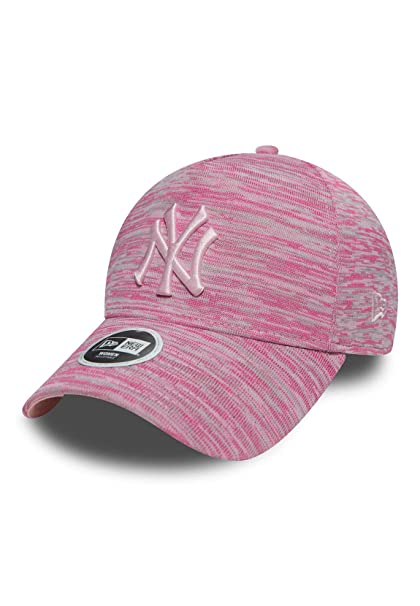 size 40 79a41 74606 New Era New York Yankees Womens Engineered Fit 9FORTY Cap - Pink Grey   Amazon.co.uk  Clothing
