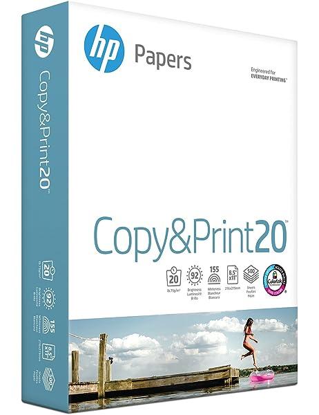Amazon.com: HP Multipurpose Paper Sheets/Ream, Blanco: Home ...