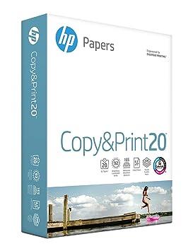 HP Printer Paper, Copy and Print Copy Paper, 20lb, 8.5 x 11, Letter ...