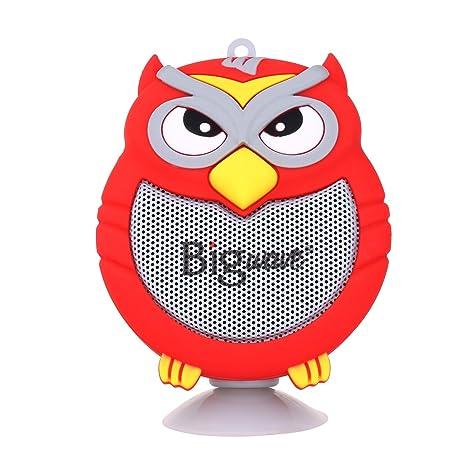 Amazon.com: Altavoz Bluetooth, Bigwave OWL diseño portátil ...