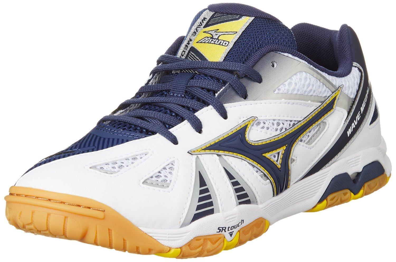 085341efedb0 Mizuno Wave Medal 5 Table Tennis Shoe - UK Size 6 - Blue / White - 265g:  Amazon.co.uk: Shoes & Bags