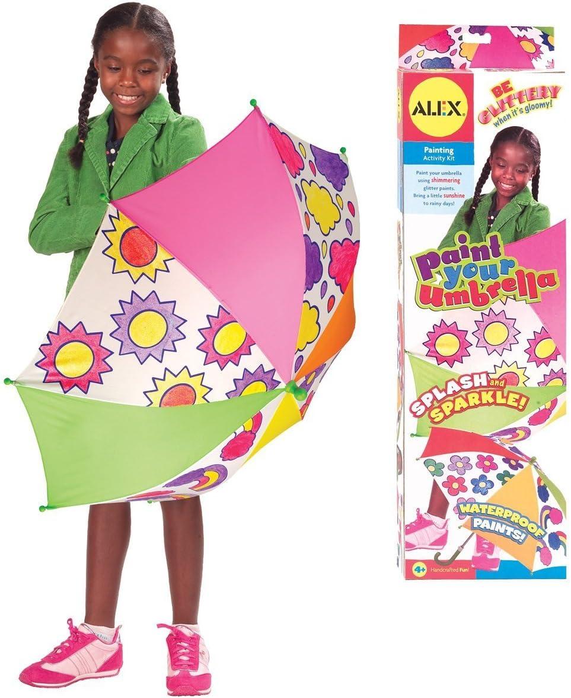 Amazon Com Alex Toys Craft Paint Your Umbrella Kit Toys Games
