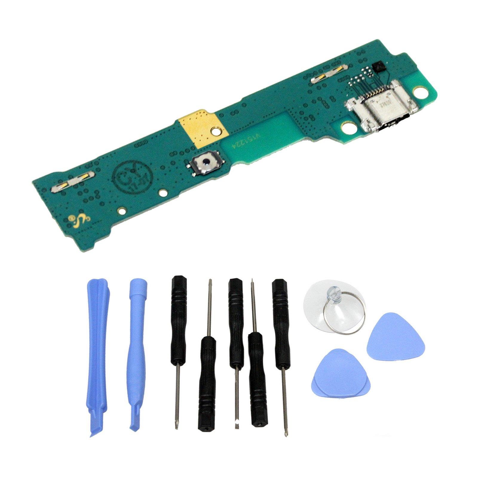 GinTai USB Charging Port Flex Board Replacement for Samsung Galaxy Tab S2 9.7'' SM-T810 SM-T815 SM-T817 SM-T819 with Tools, 40 PCS