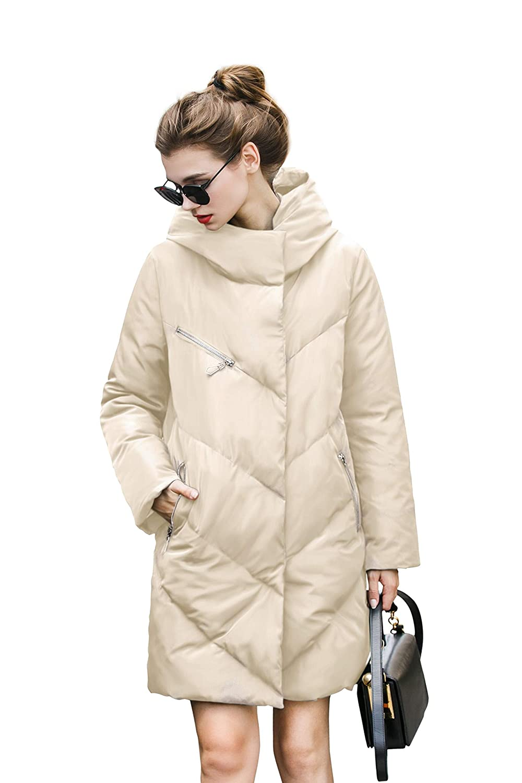 you.u Diseño Abrigo de Moda Impermeable para Mujers