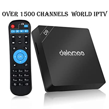Brazilian Channels Box IPTV Receiver 4K 2019 Newest with Lifetime  Subscription for Over 1500 Global Live