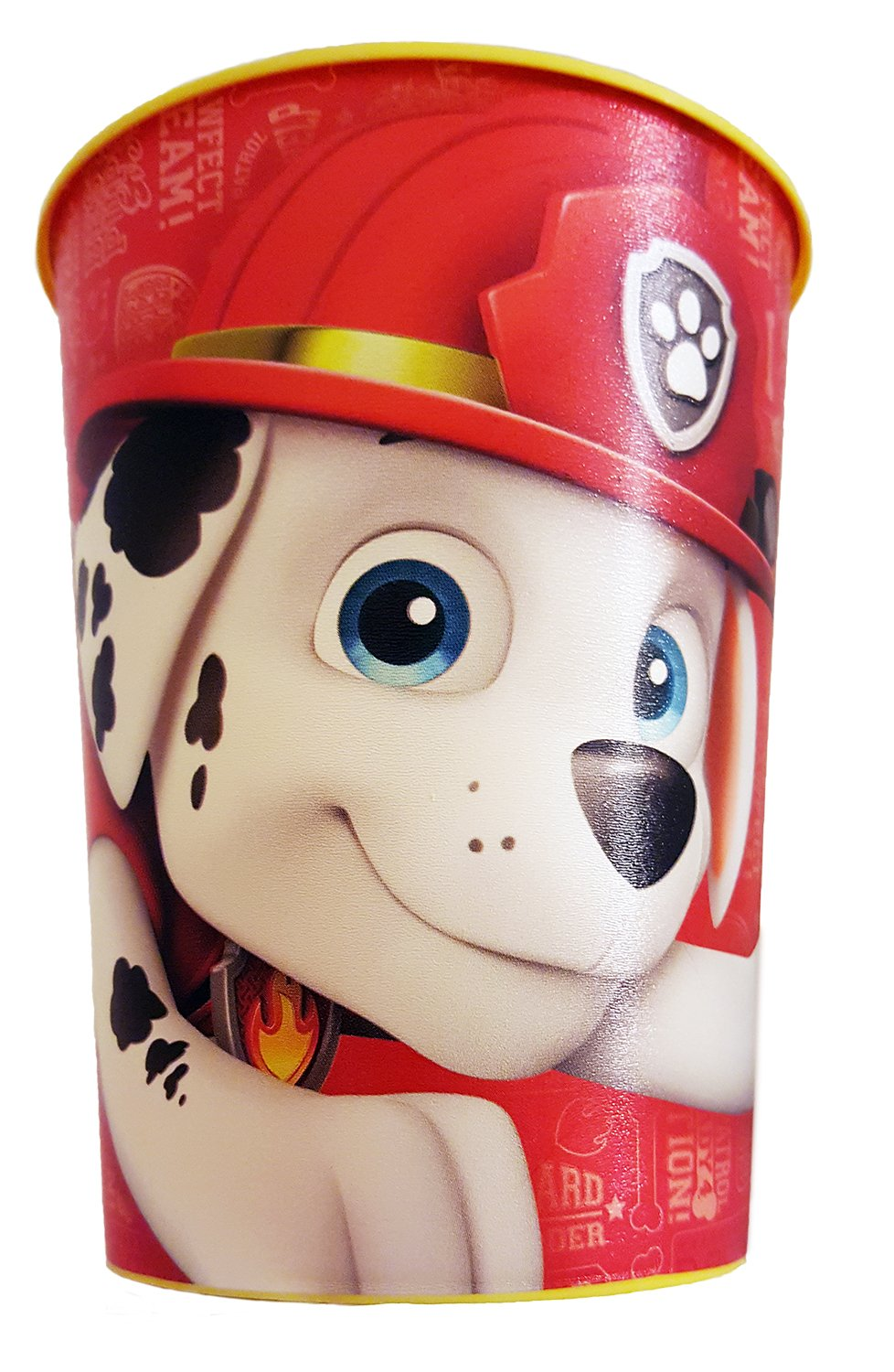 Paw Patrol Marshall Toothbrush & Toothpaste Bundle: 3 Items - Spinbrush Toothbrush, Orajel Bubble Berry Toothpaste, Kids Character Rinse Cup by Kids Marshall Dental Kit (Image #3)