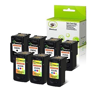 nineleaf oficina productos PG-210 X L CL-211 X L negro Color de ...