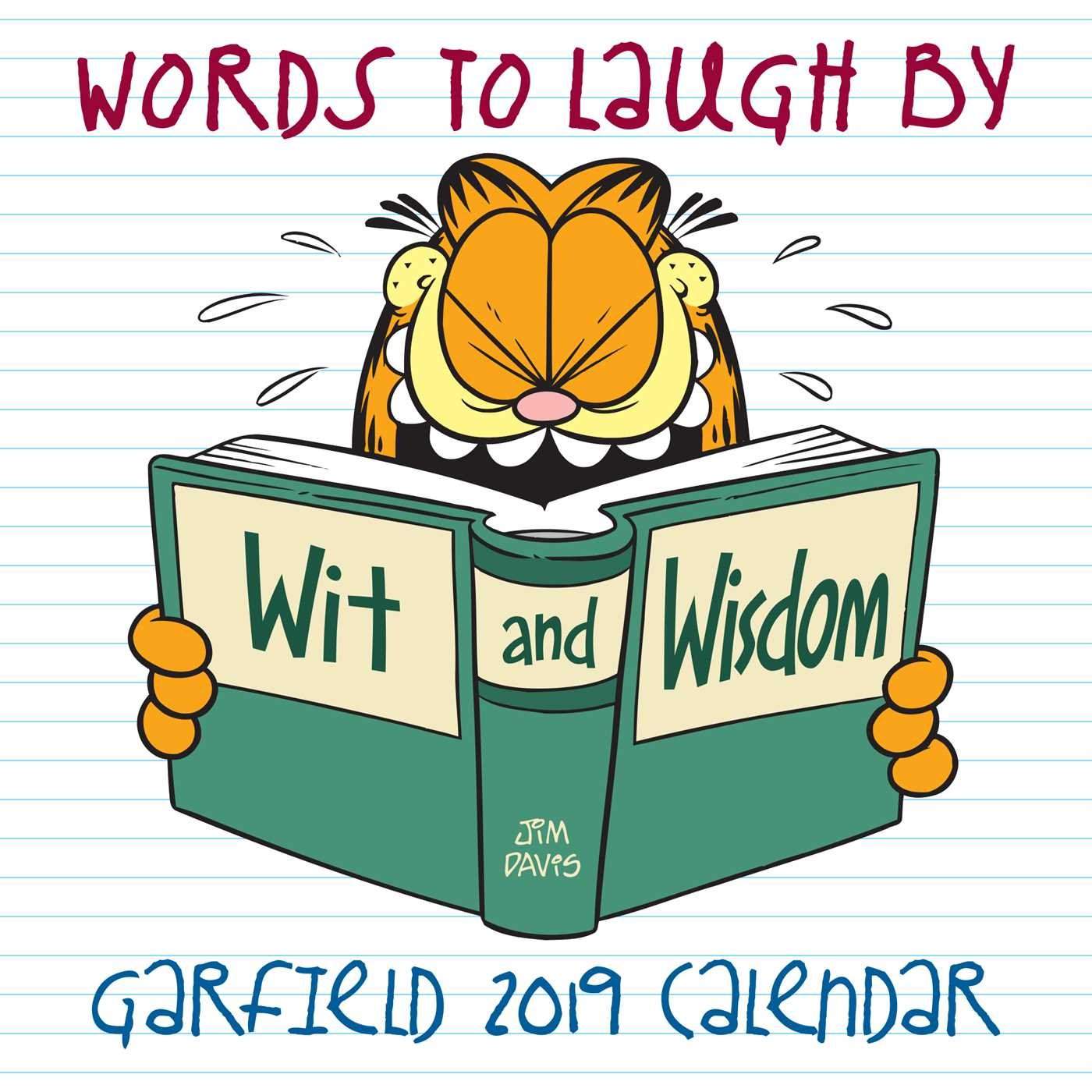 Garfield 2019 Mini Wall Calendar: Words to Laugh By Calendar – Mini Calendar, Wall Calendar Jim Davis Andrews McMeel Publishing 1449492312 Calendars