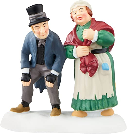2.52 inch Enesco Gift 4044813 Department 56 Christmas Carol Dickens Village Waiting in the Parlor Accessory