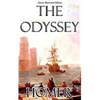 The Odyssey:a classics illustrated edition (English Edition)