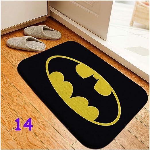Batman Welcome To The Batcave Non Slip Indoor Outdoor Door Mat Fan Gift
