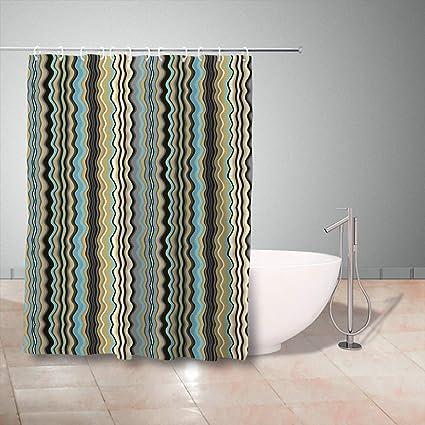 Amazon GisRuRu Shower Curtains Set With Hooks 72 X 78 Inches