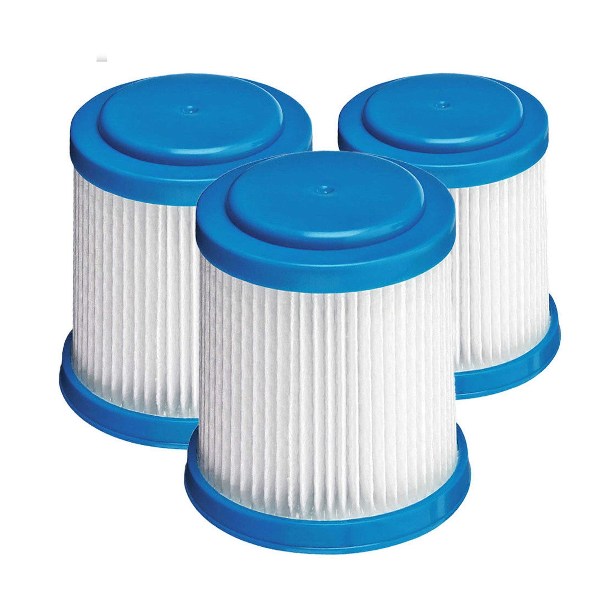 VPF20 Vacuum Filter for Black and Decker Vacuum Cleaner Filters HFEJ415JWMF10 Type 1 Replaces Part # VPF20 9060605801 90606058-01 (3 pack)