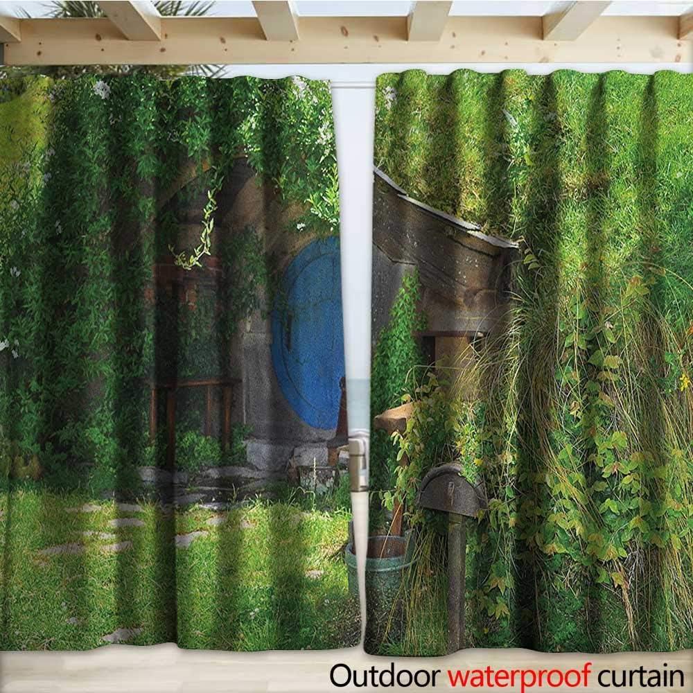 warmfamily Hobbits - Pérgola para Patio, diseño de Cascada de ...