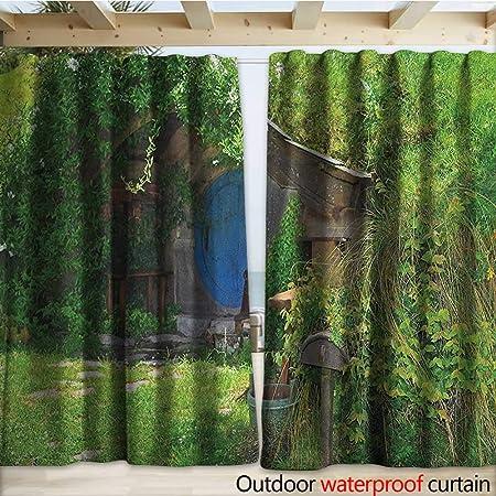 warmfamily Hobbits - Pérgola para Patio, diseño de Cascada de Multnomah con pasatiempo, Color Verde: Amazon.es: Jardín