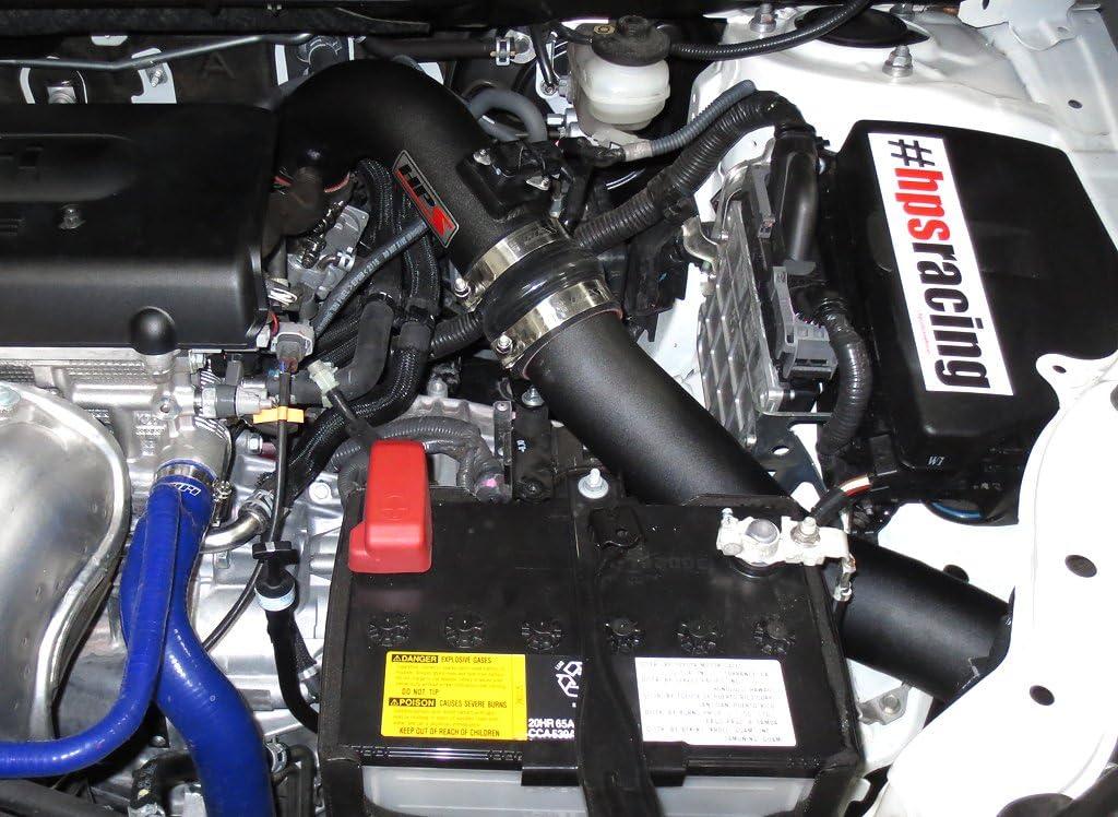 HPS Short Ram Cool Air Intake Kit Polish Shortram for 08-14 Scion ...