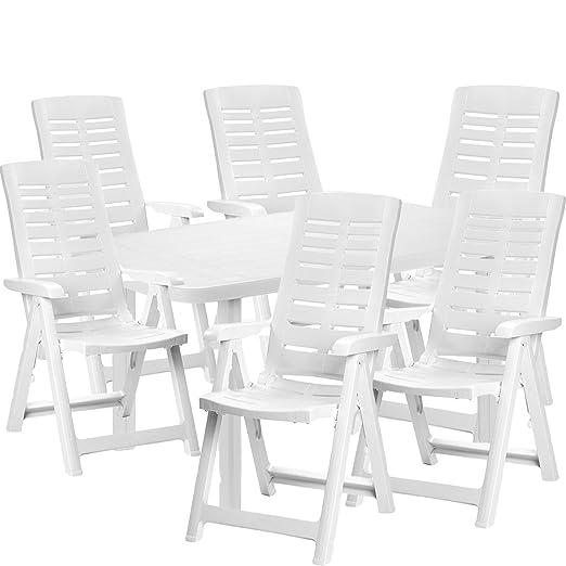 tavolo e sedie pieghevoli plastica
