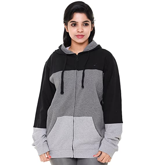 a01b014c49 EASY 2 WEAR ® Womens Jackets Hooded (Size S to 4XL): Amazon.in ...