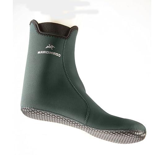 Cormoran - Calcetines de neopreno para botas (talla 38-41, cortos),
