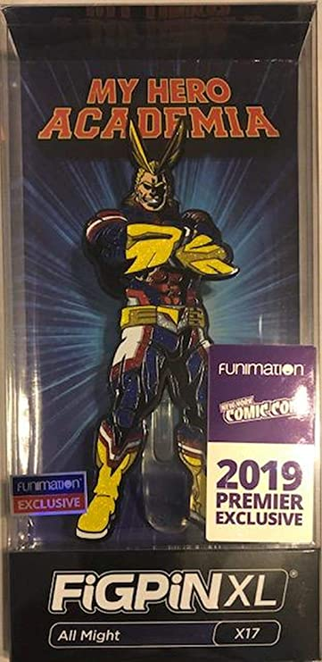 Figpin XL All Might X17 2019 Funimation Exclusive My Hero Academia
