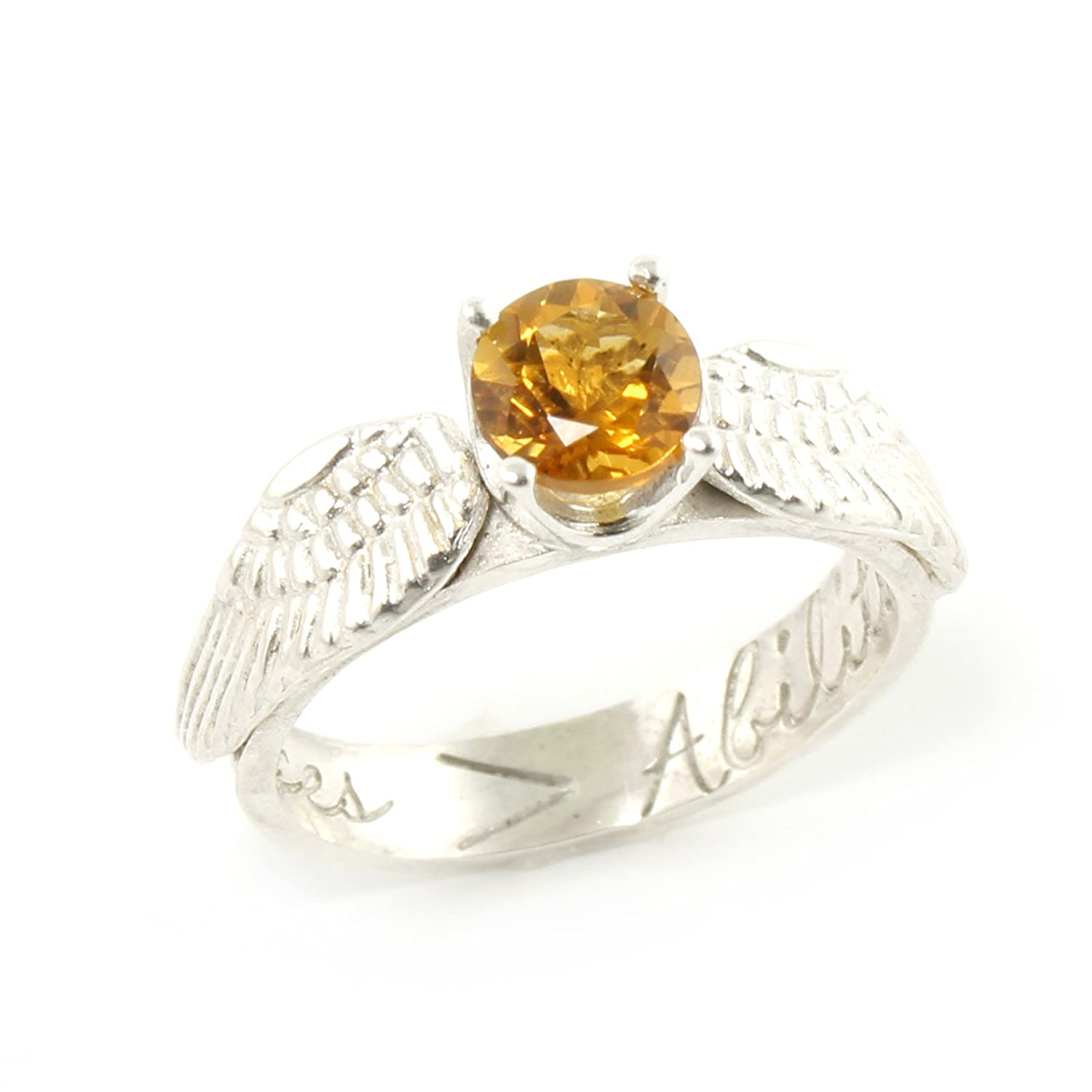 d8bd347ef0f39 Golden Snitch Engagement Ring - Nerdy Promise Ring