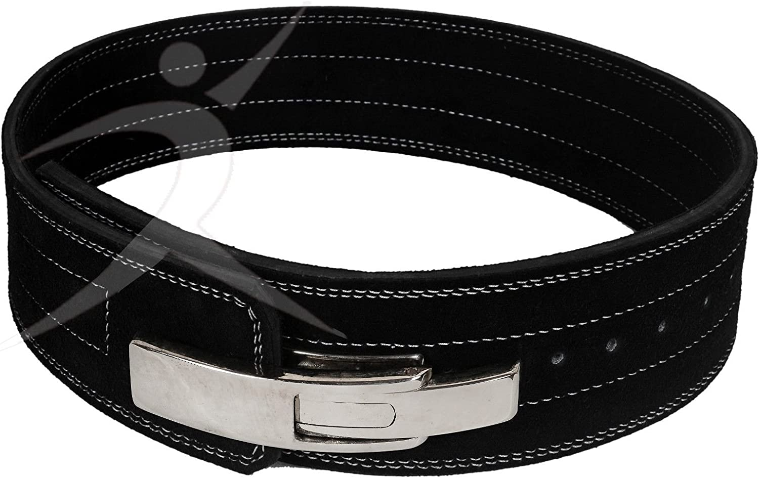 """ARDCHAMPS™Neoprene Weight Lifting Back Support Gym Training Belt 5/"""" Wide Grey M"""
