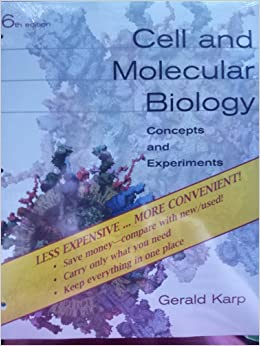 karp cell and molecular biology 8 edition pdf free download