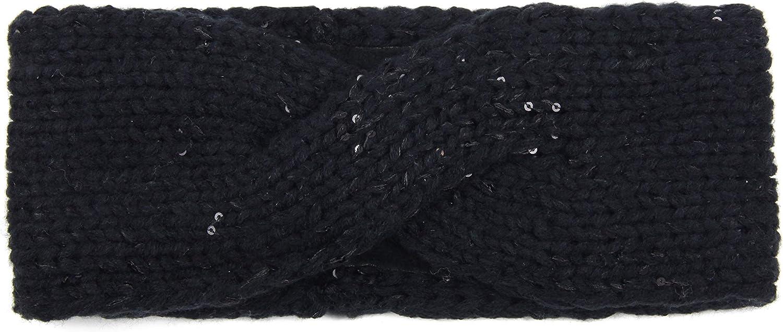 Strick Haarband Ohrensch/ützer im Schleife Design M/ädchen Vanessa /& Melissa Stirnband Damen