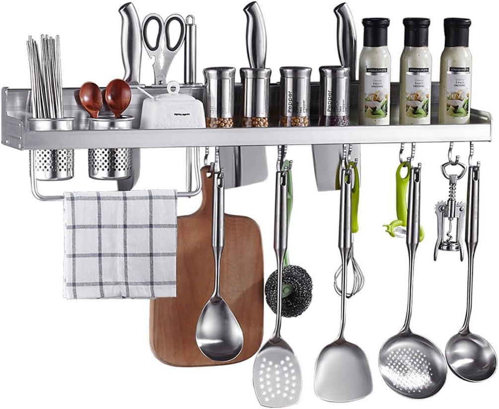 EIN freier Durchschlag Küche Racks hängenden Raum Aluminium