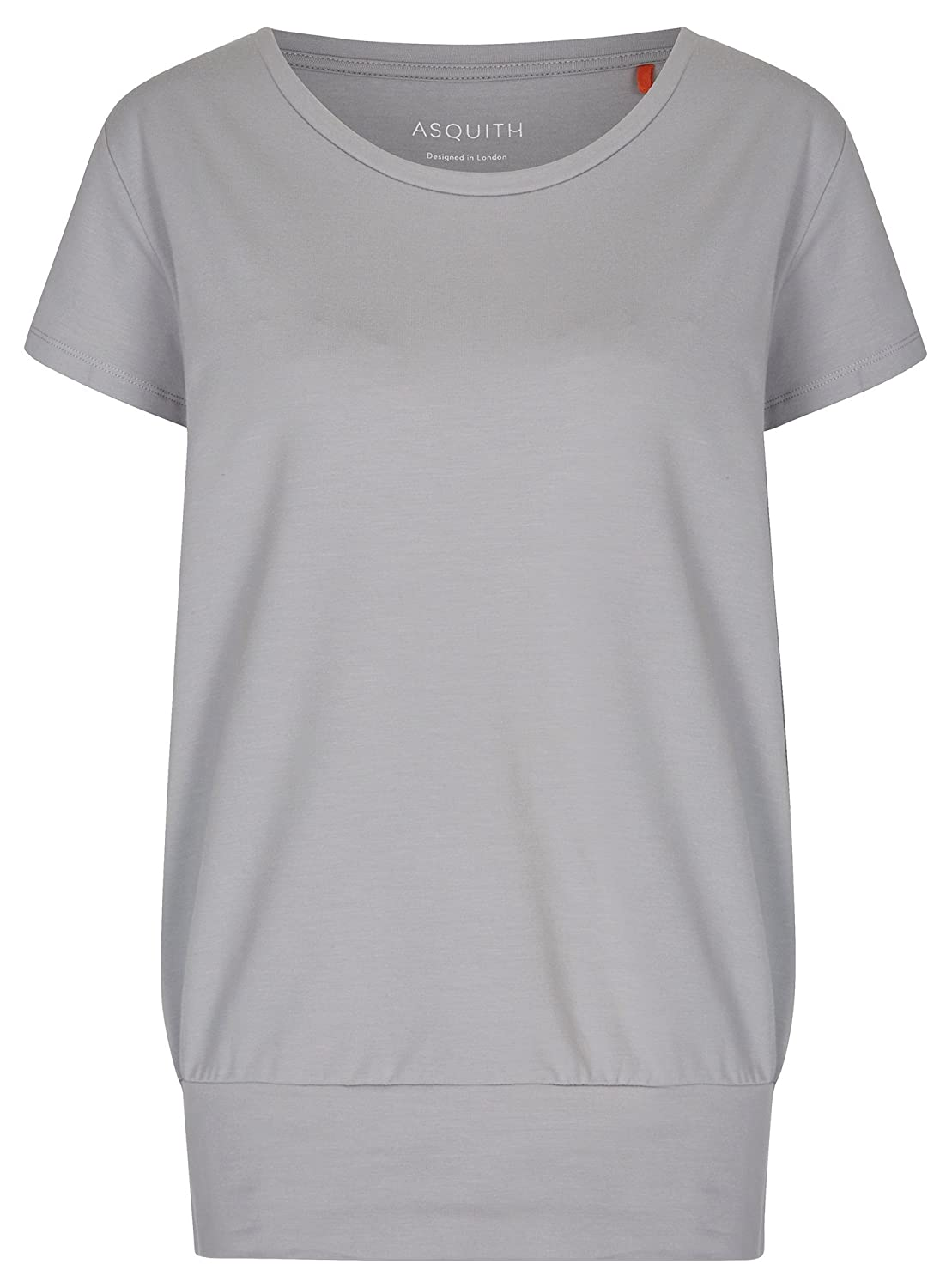 Asquith Yoga-t-Shirt Smooth You - Pearl Grau