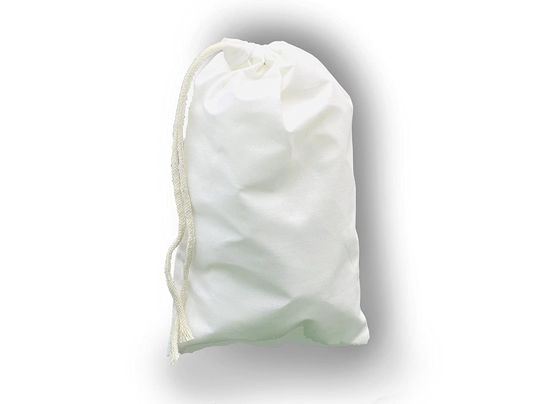 12 x 20インチ、コットンモスリン巾着バッグナチュラルカラー、プレミアム品質リサイクル可能ファブリック、から選択数量10、25、50,100、200 L B07D6VKCHG  100