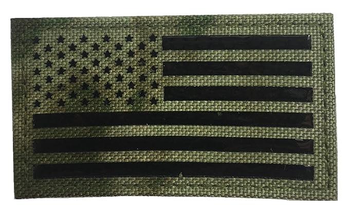 l'atteggiamento migliore 4a9b3 f45e4 SUBDUED STANDARD DELTA US FLAG IR-CLOTH PATCH: Amazon.it ...