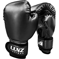Luniquz Boxing Gloves for Kids Punching Bag Sparring Fit Boys Girls