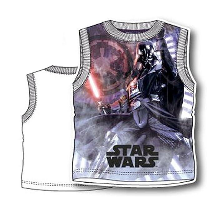 Star Wars - Canottiera Maglietta Senza Maniche Full Print - Bambino -  Novità Prodotto Originale 8231PE ae2975a7f3c9