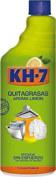 KH-7 - Quitagrasas - Aroma limón 750 ml - Pack de 3 (Total 2250 ml): Amazon.es: Salud y cuidado personal