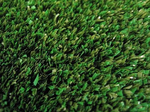 Koeckritz Rugs 8 x 6 Indoor Outdoor Artificial Grass Area Rug Carpet Color Backyard