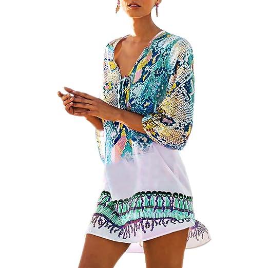 d97d1887ba1 Fasker Womens Bathing Suit Swimwear Beach Cover Up Bikini Coverups ...