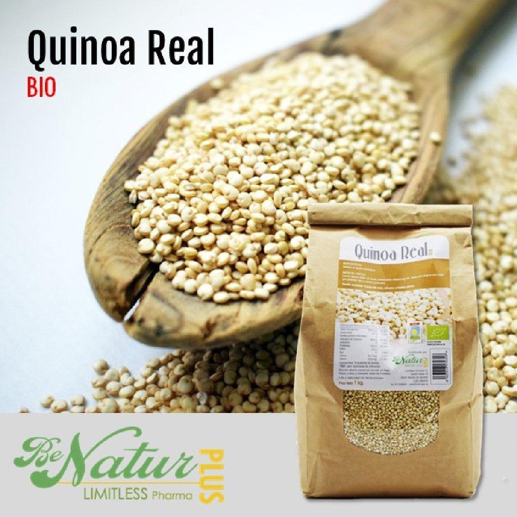 Quinoa Real en grano BeNatur Plus - 100% Quinoa Real procedente de Bolivia de Pureza Garantizada Libre de Pesticidas y de cualquier tipo de productos ...