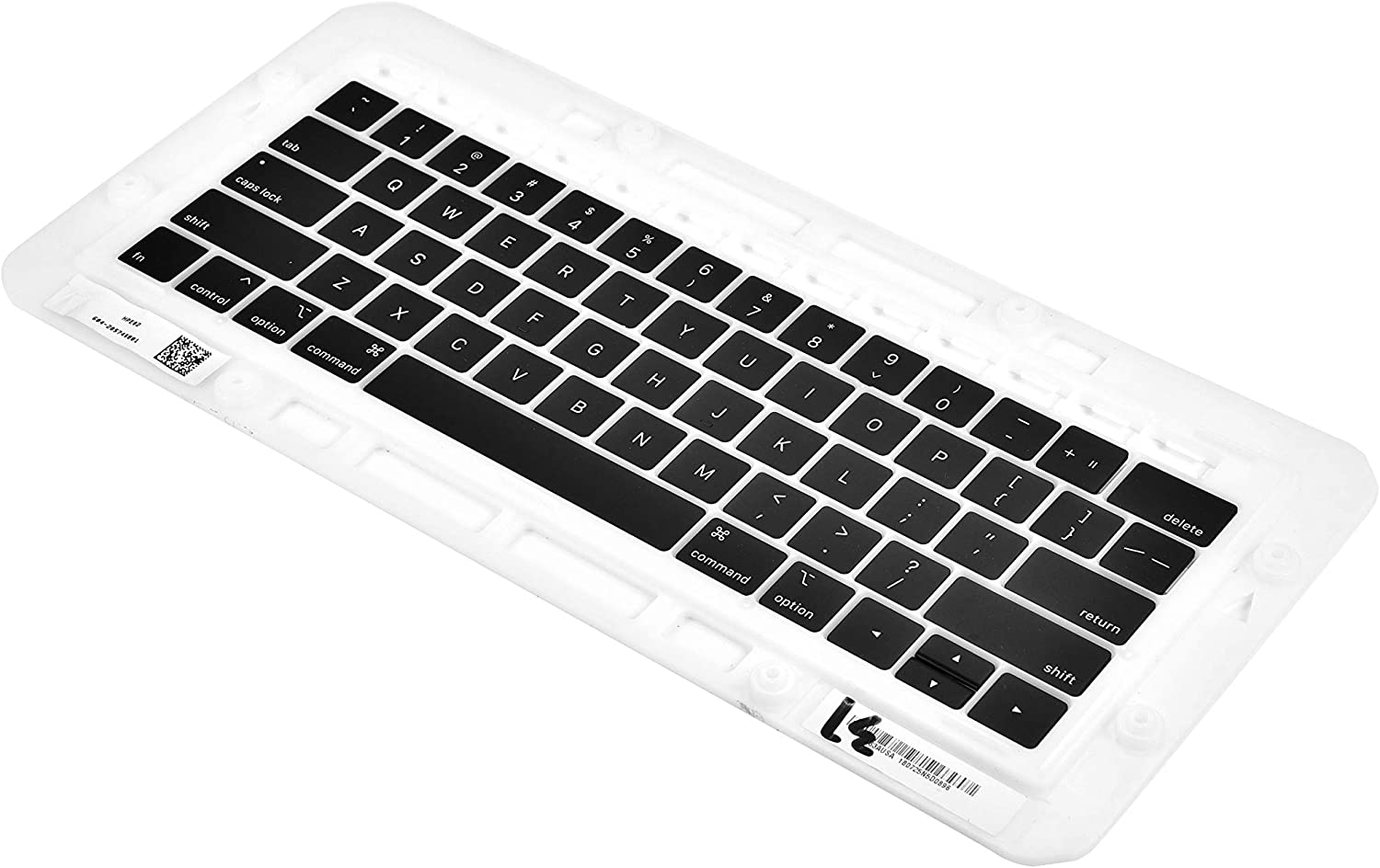 Replacement Individual Key Cap Set QWERTY Compatible with MacBook Pro 13//15 with//Without Touchbar A1706 A1707 A1708 2016 2017