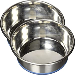 OurPets Premium DuraPet Dog Bowl, 2.25 Cups (2 Pack)