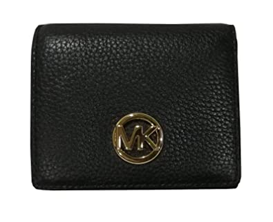 a043c31aa327 Amazon.com: Michael Kors Fulton Leather Carryall Card Case Wallet ...