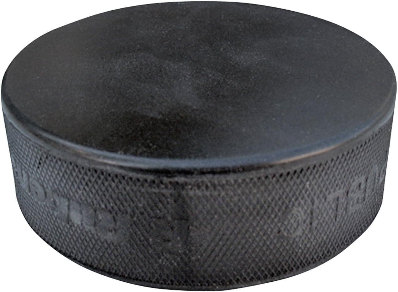 A&R Ice Hockey Puck Black Practice Hard Vulcanized Rubber This Lightweight