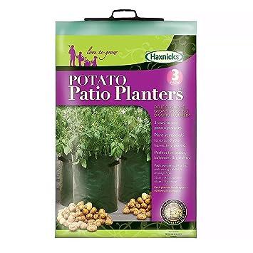 Easy To Use Potato Patio Garden Planter x 3 Amazoncouk Garden