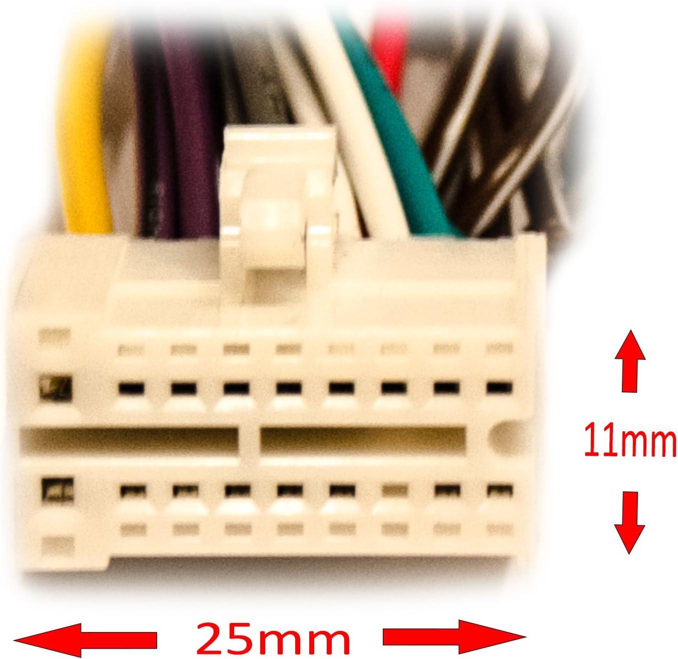 Autoradio Ersatzkabel Adapter Für Clarion Nx Nz Vb Elektronik