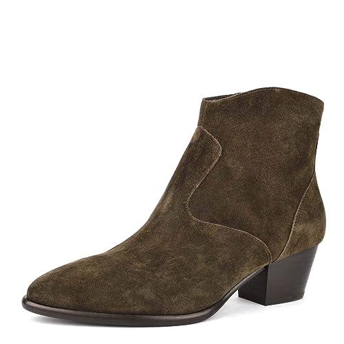 Militare Scarpe Footwear Military Amazon 37 Heidi Ash Verde Borse it Stivaletti Donna Bis E IRWPq