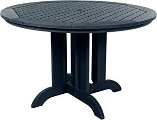 """product image for highwood AD-DRT48-FBE Adirondack Round Height Dining Table, 48"""", Federal Blue"""