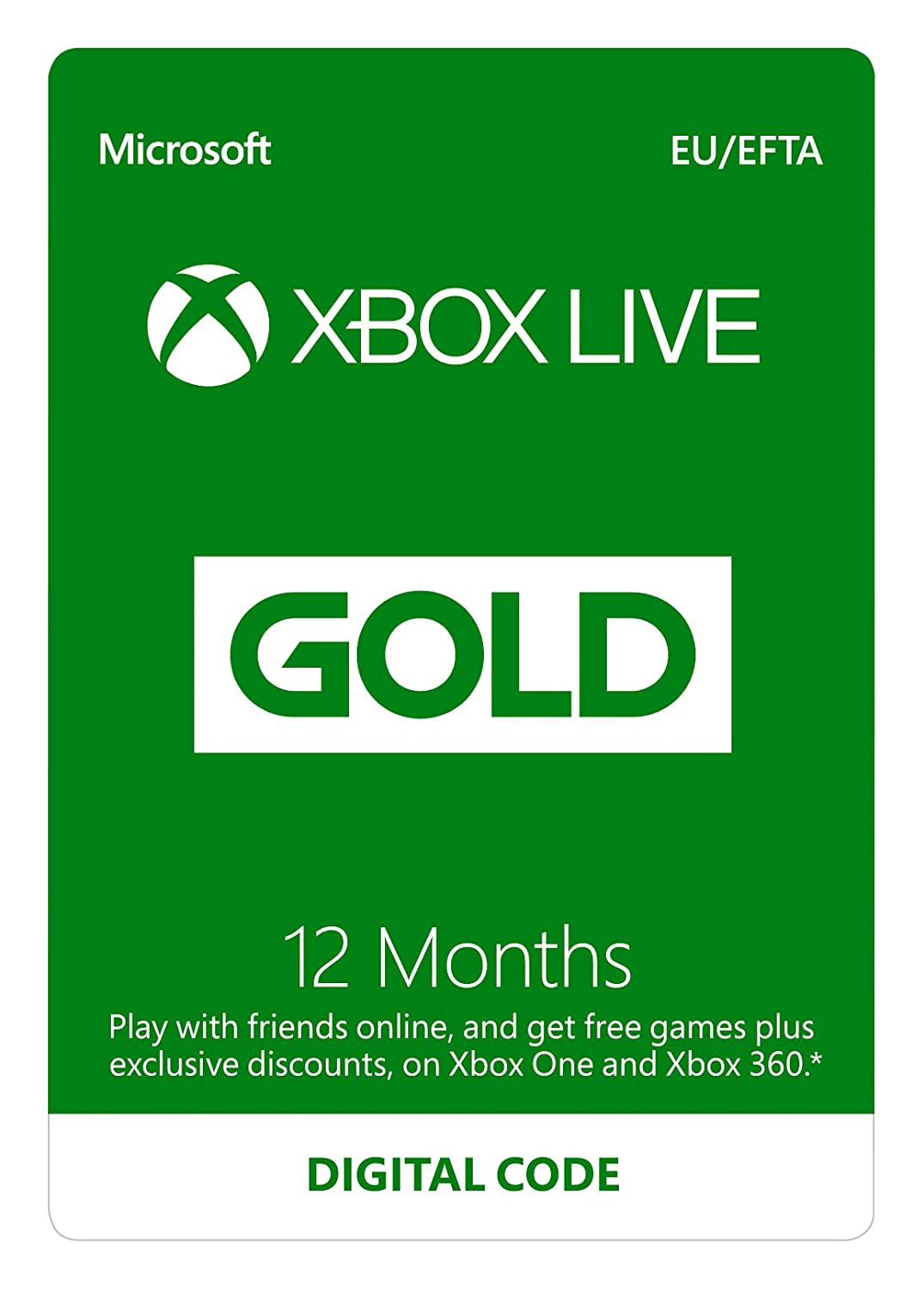 Uk Daily Deals Xbox Live Gold 12 Month Subscription For 26 50 Ps