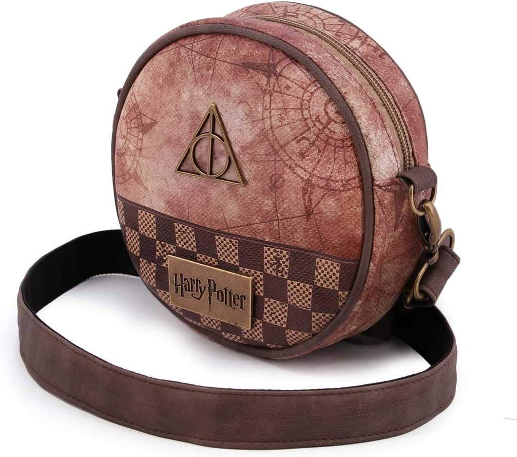Multicolore 38 cm Karactermania Harry Potter Relic-Basic Shoulder Bag Sac bandouli/ère Multicolour