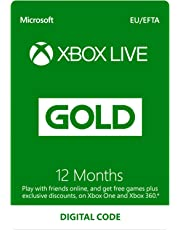 Xbox Live 12 Month Gold Membership | Xbox One/360 | Xbox Live Download Code